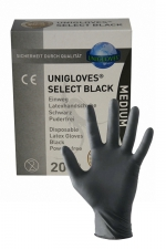 20 gants en latex jetables - Mister B