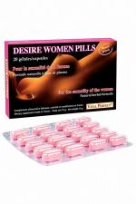 Desire Women Pills  (20 gélules) : Pour stimuler le désir et exalter le plaisir chez la femme. Formule naturelle de nouvelle génération.