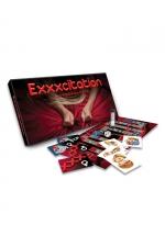 Jeu EXXXcitation : Un jeu stimulant pour couple, où le gagnant sera celui ou celle qui saura résister le plus longtemps possible à l'appel de l'orgasme. EXXXcitant !