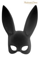 Masque lapin avec pompon - Maison Close : Masque érotique lapin et pompon clipsable pour attiser le désir tout en laissant planer le mystère.